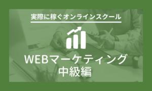 webマーケティング中級編